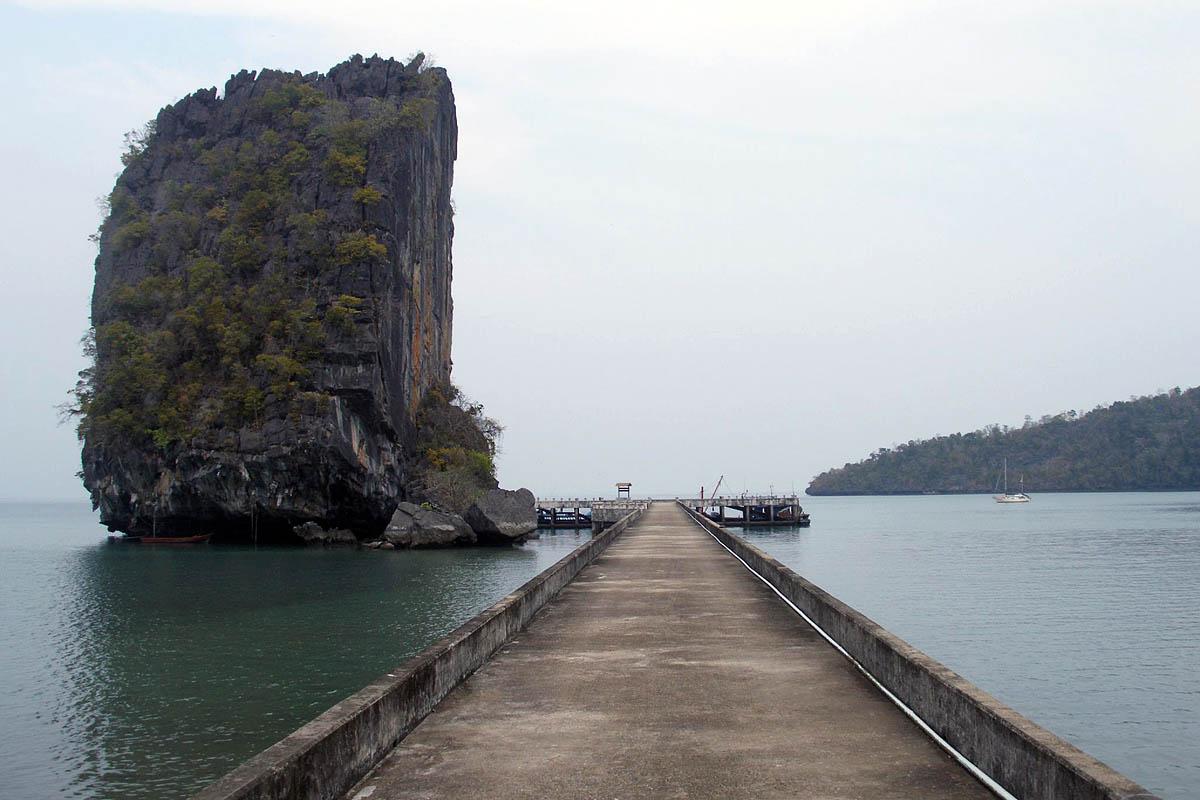 West dock of Koh Tarutao