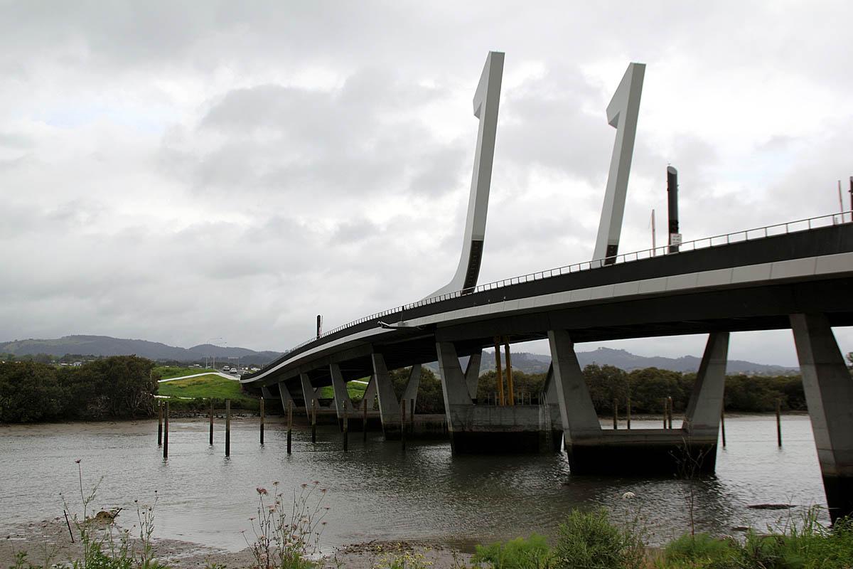 Whangarei Harbour bridge