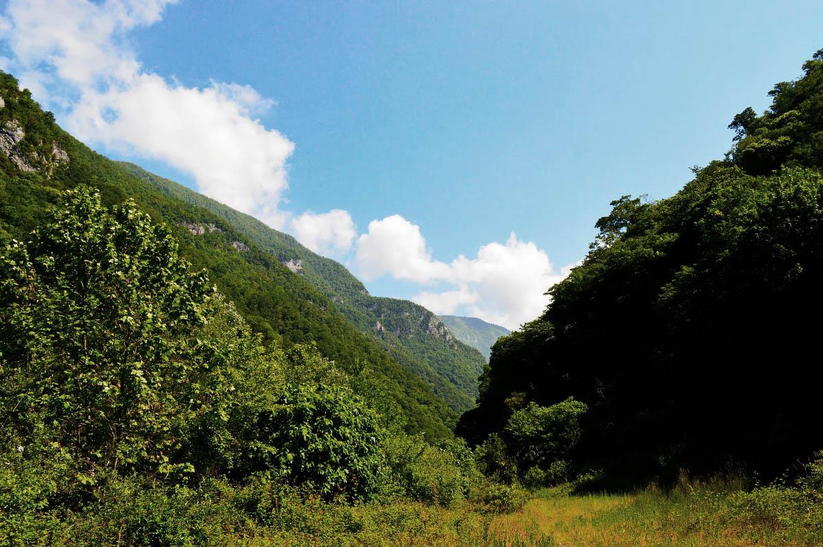 Жоэкварское ущелье, Гагра, Абхазия
