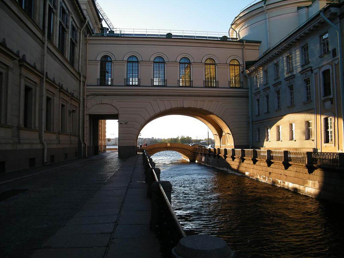 Зимняя канавка в Санкт-Петербурге, Россия