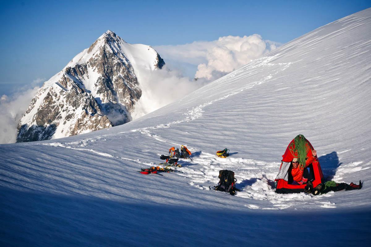 бивак в лыжном походе