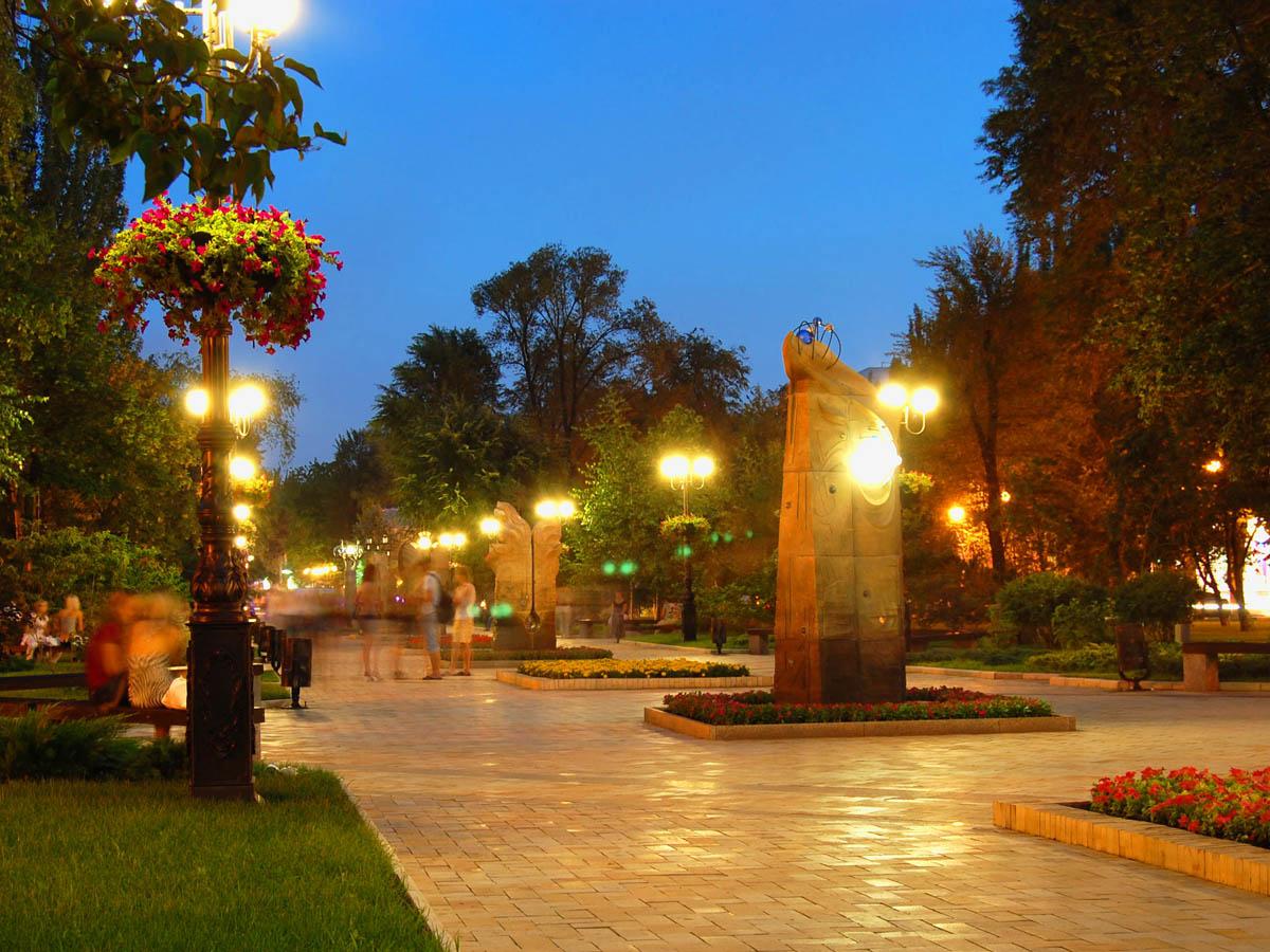 бульвар Пушкина, Донецк