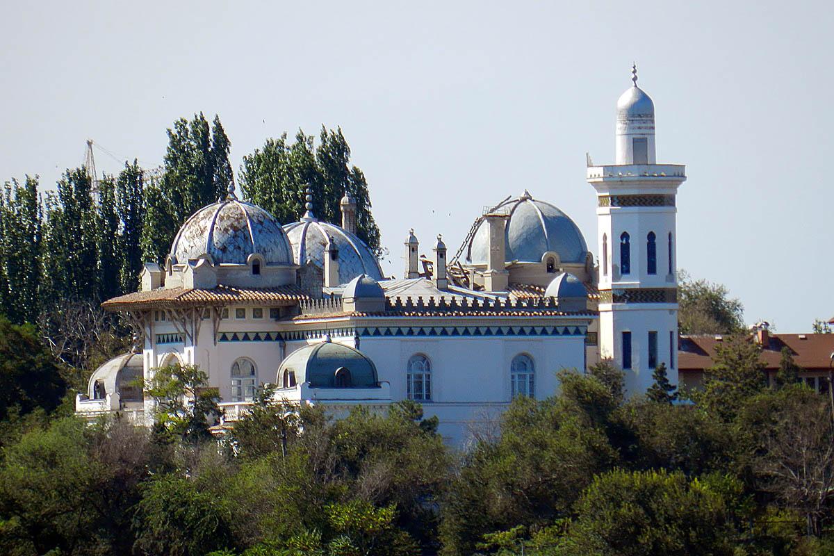 дача-дворец Стамболи в Феодосии, Крым