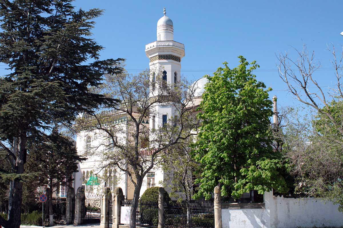 дворец Стамболи в Феодосии