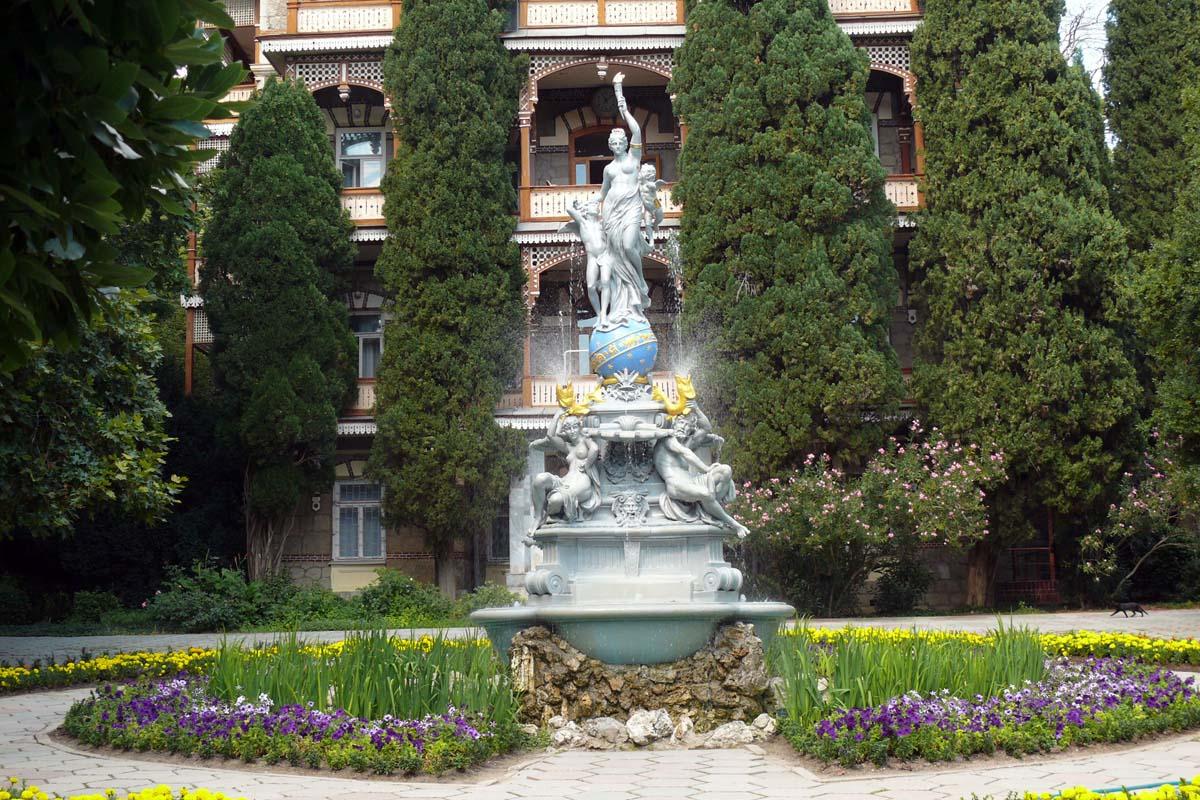 фонтан Ночь