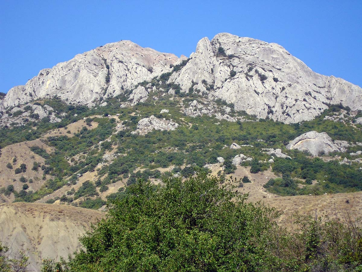 гора Эчки-Даг, Феодосия, Крым