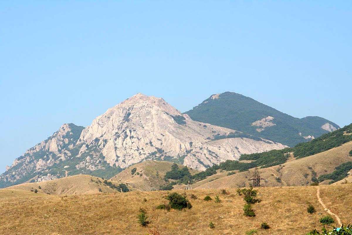гора Эчки-Даг, Крым