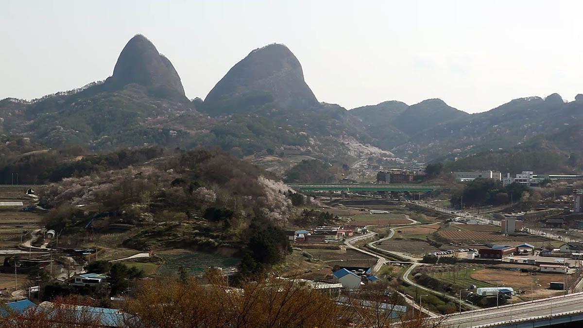 гора Майсан, Южная Корея