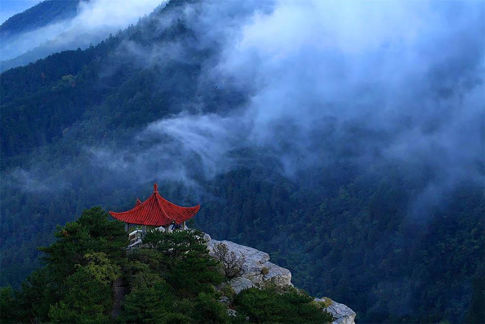 горы Лушань в Китае