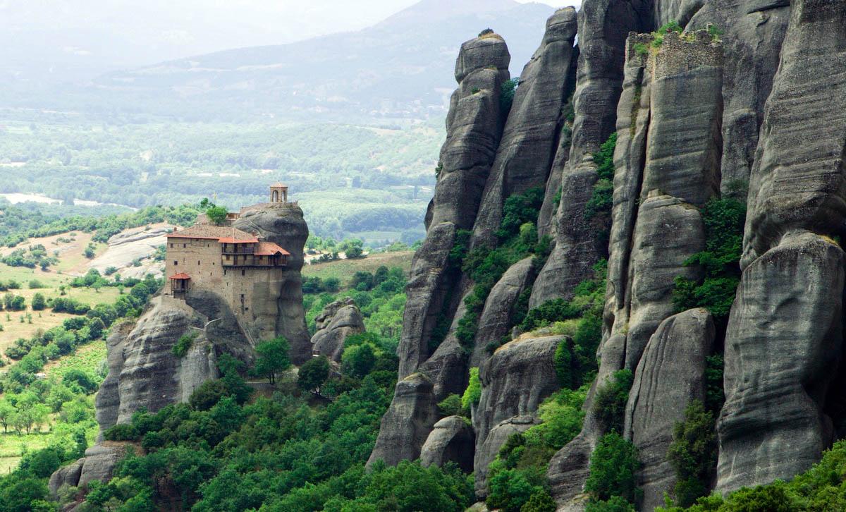 горы Пинд в Греции