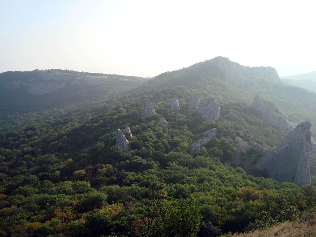 горы, бухта Ласпи, Крым