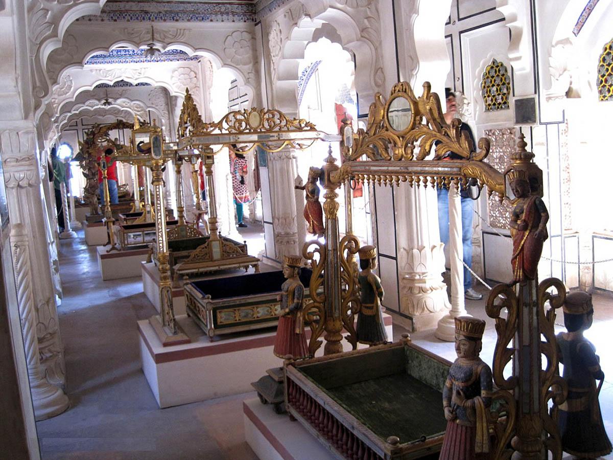 интерьер дворца Мехрангарх