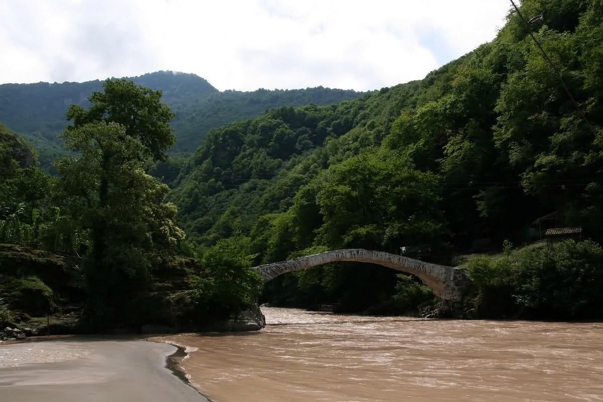 каменные мосты, Батуми, Грузия
