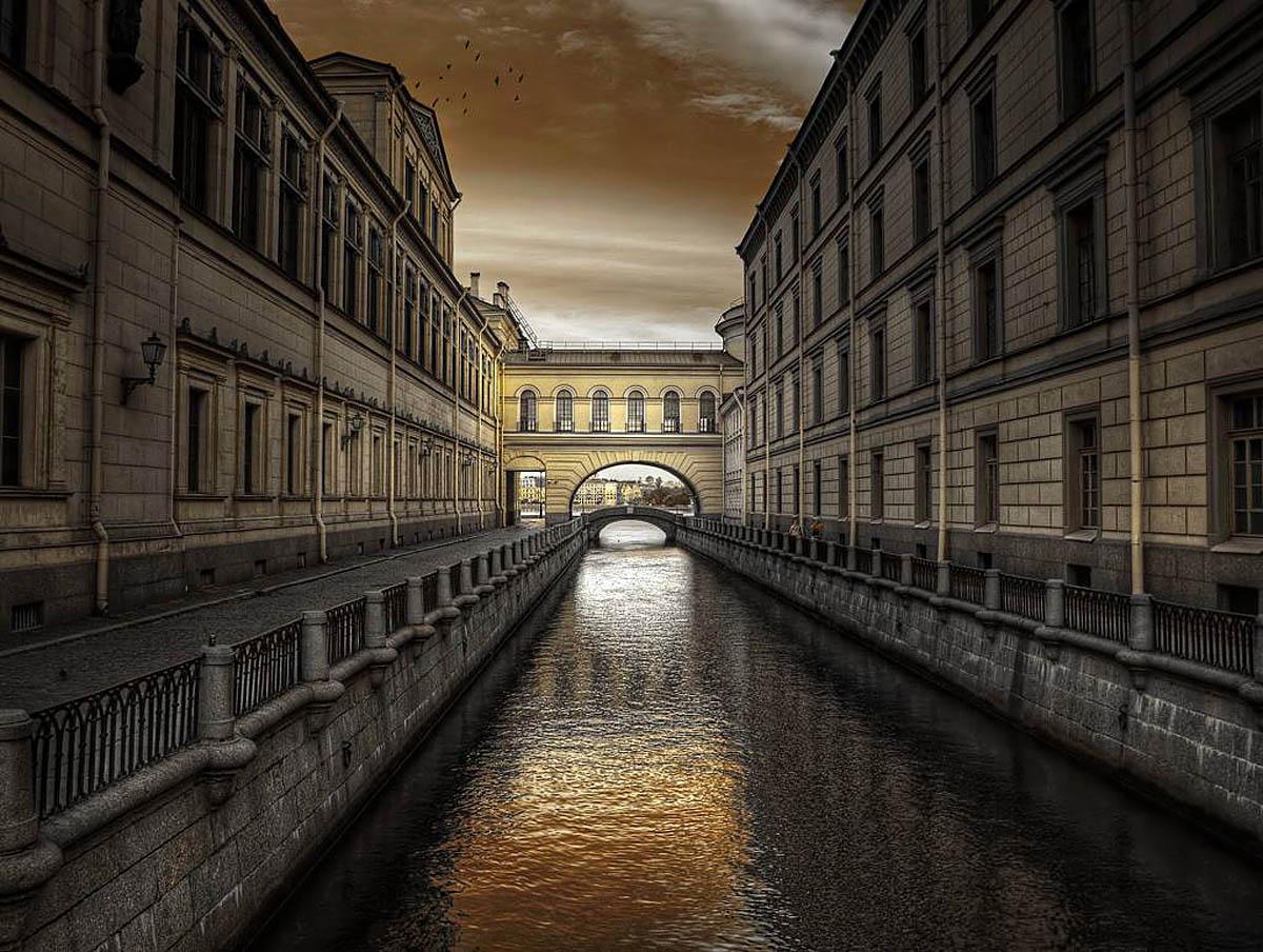 канал Зимняя канавка, Санкт-Петербург