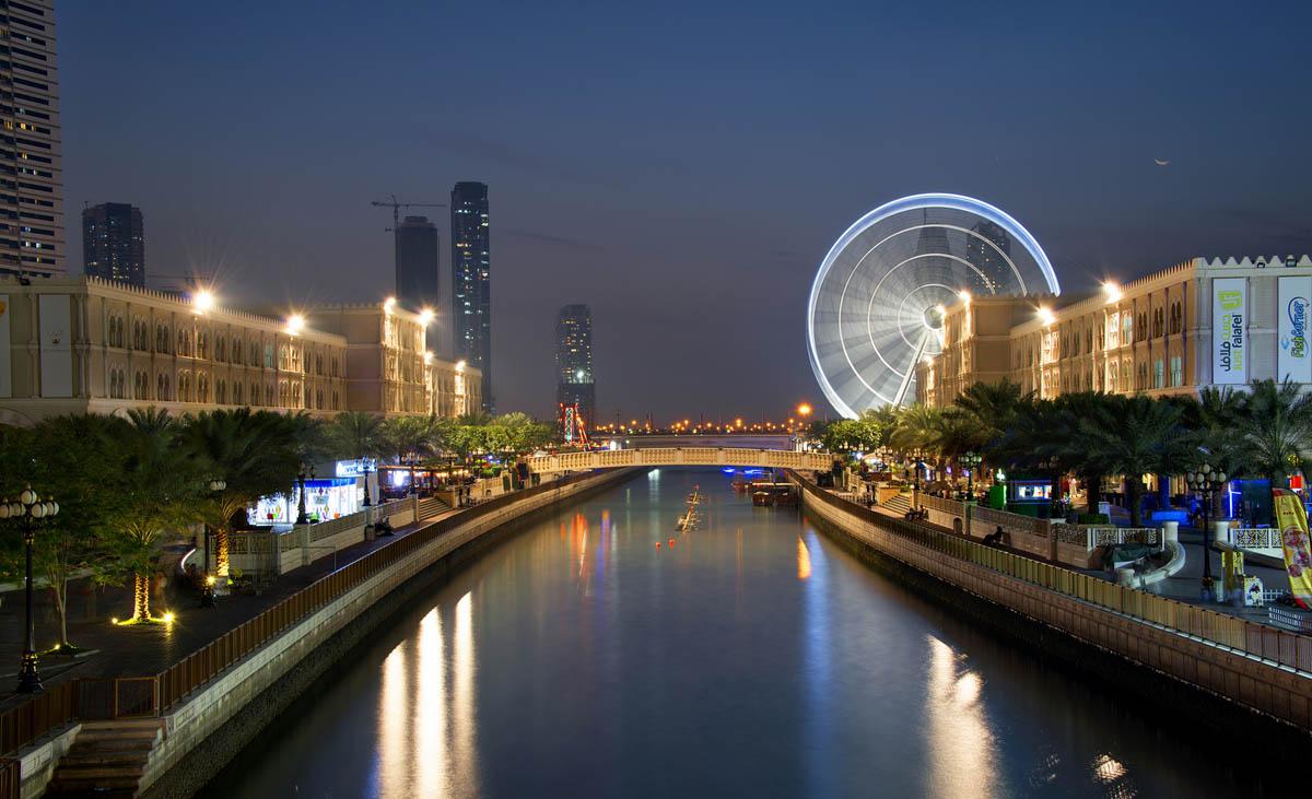 колесо обзора Око Эмират, Шарджа, ОАЭ