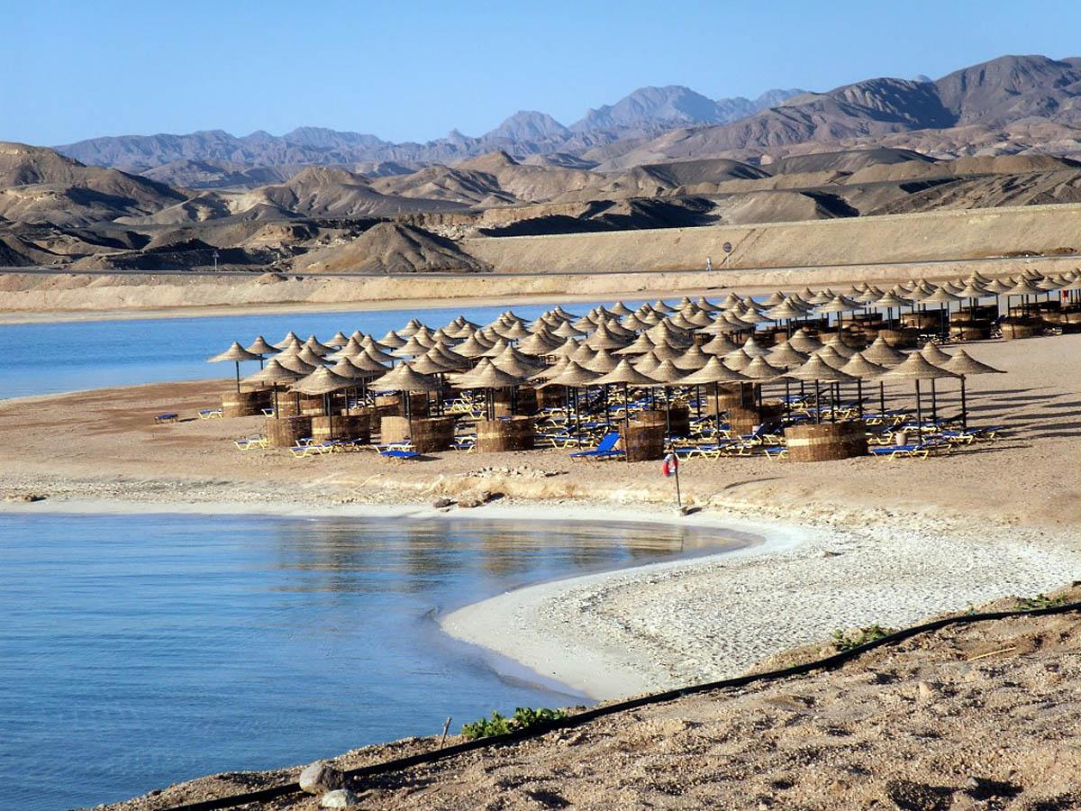 курорт Сафага в Египте
