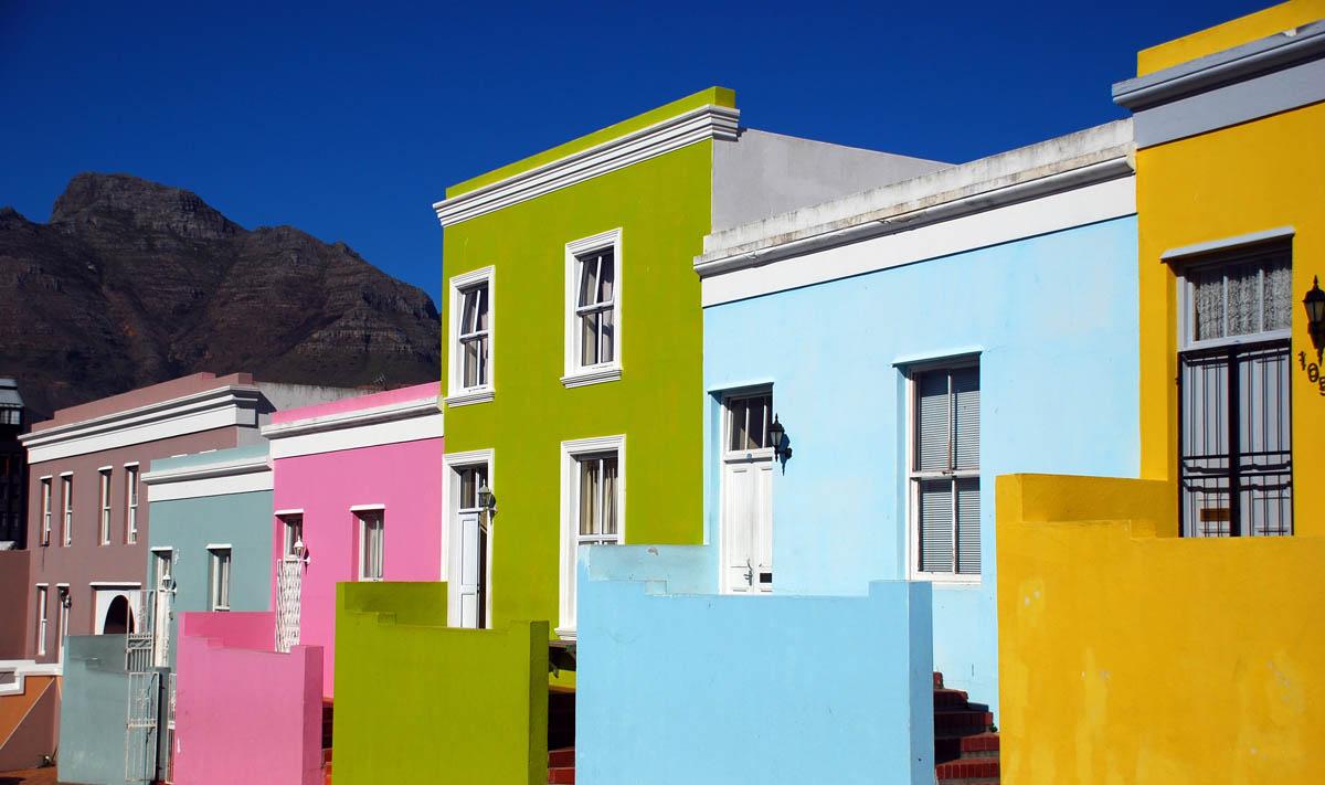 квартал Бо-Каап в Кейптауне, ЮАР