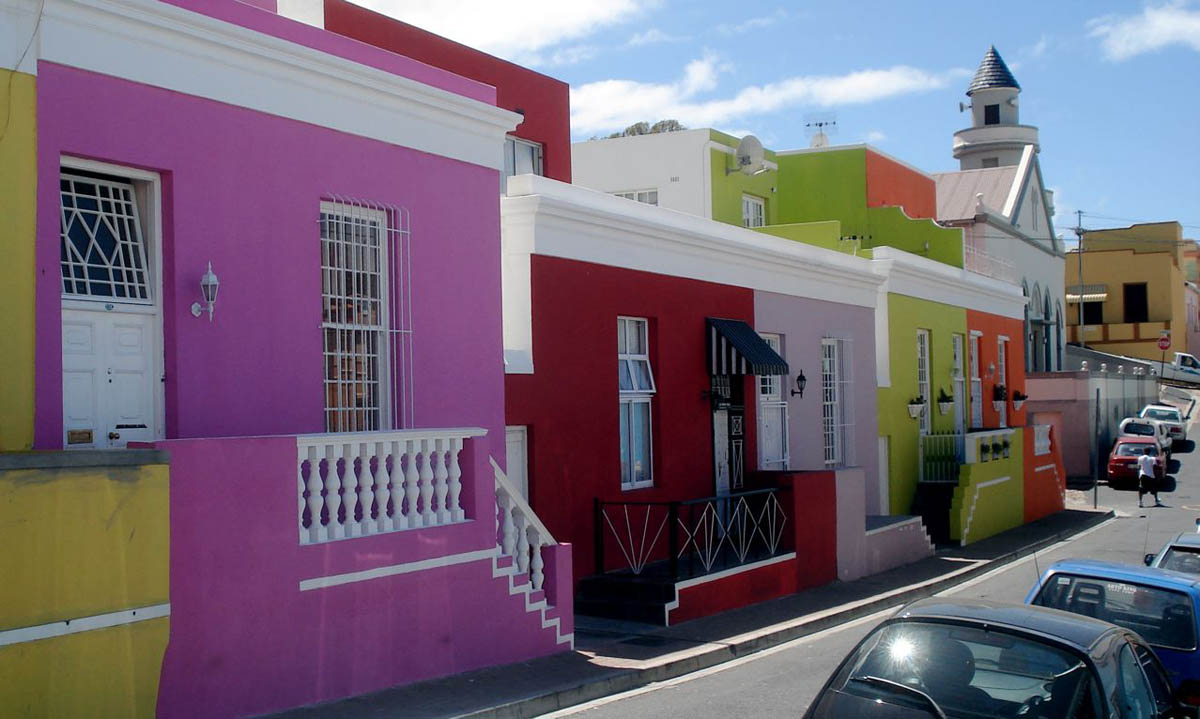 квартал Бо-Каап в Кейптауне
