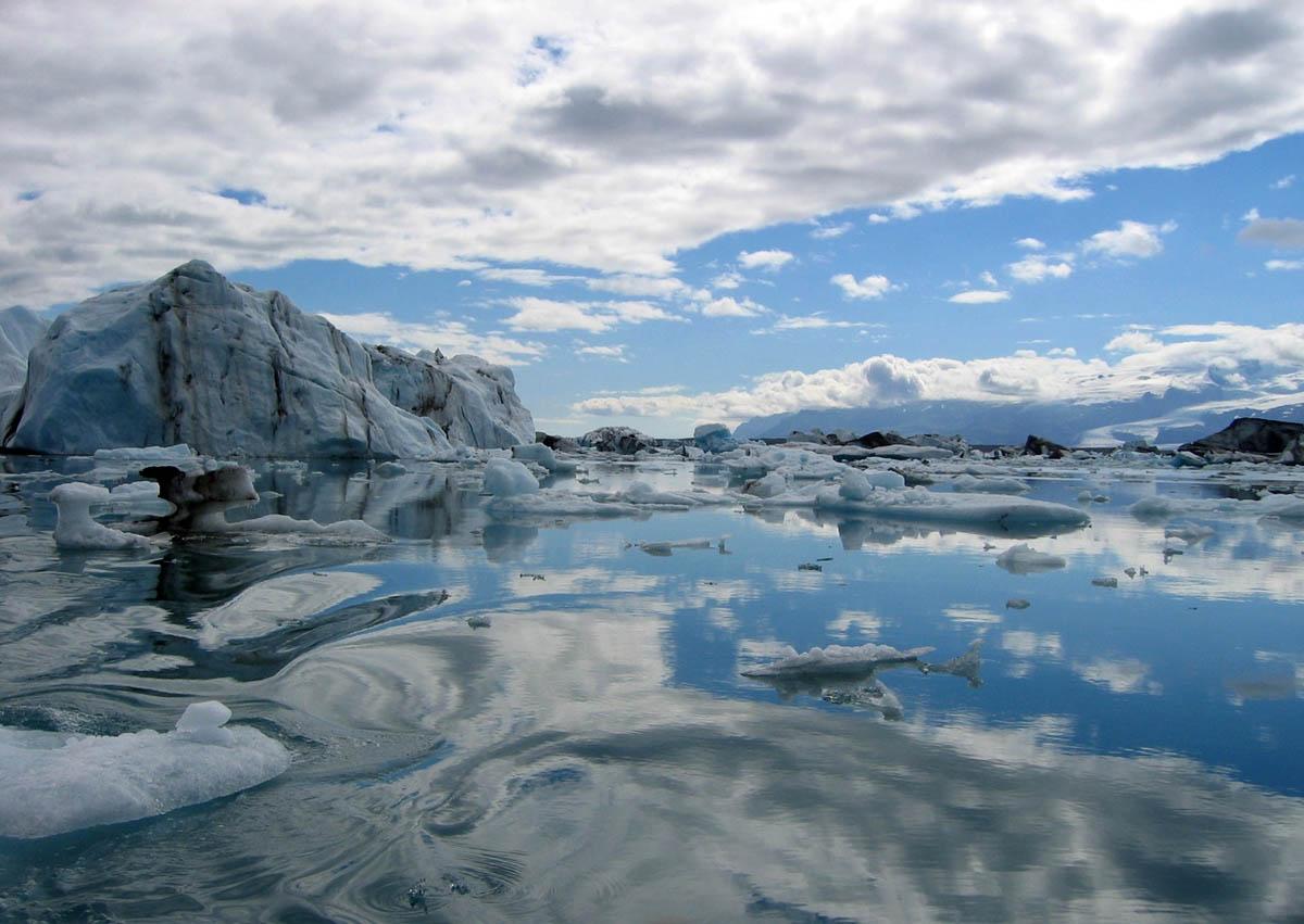ледяное царство Исландии