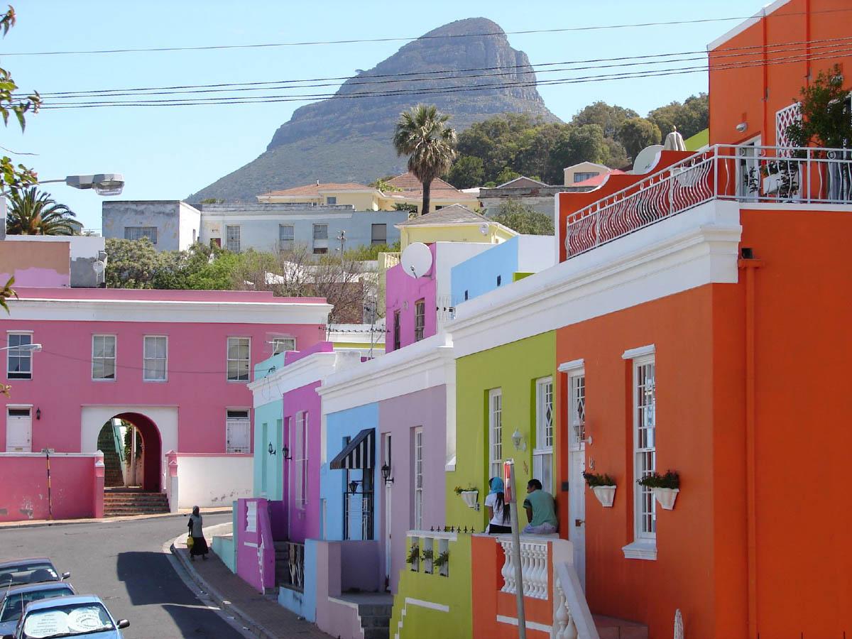 малайский квартал Бо-Каап в Кейптауне, ЮАР