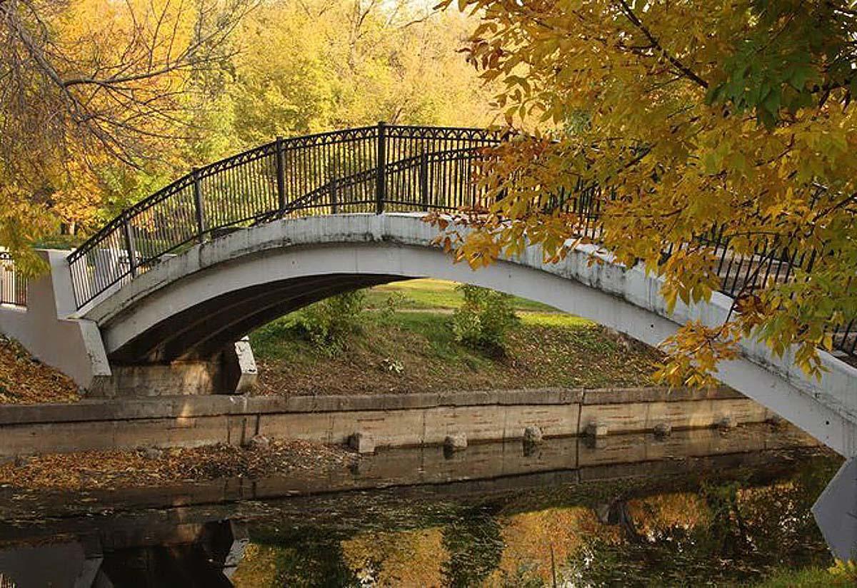 мост в Красной Пресне, Москва