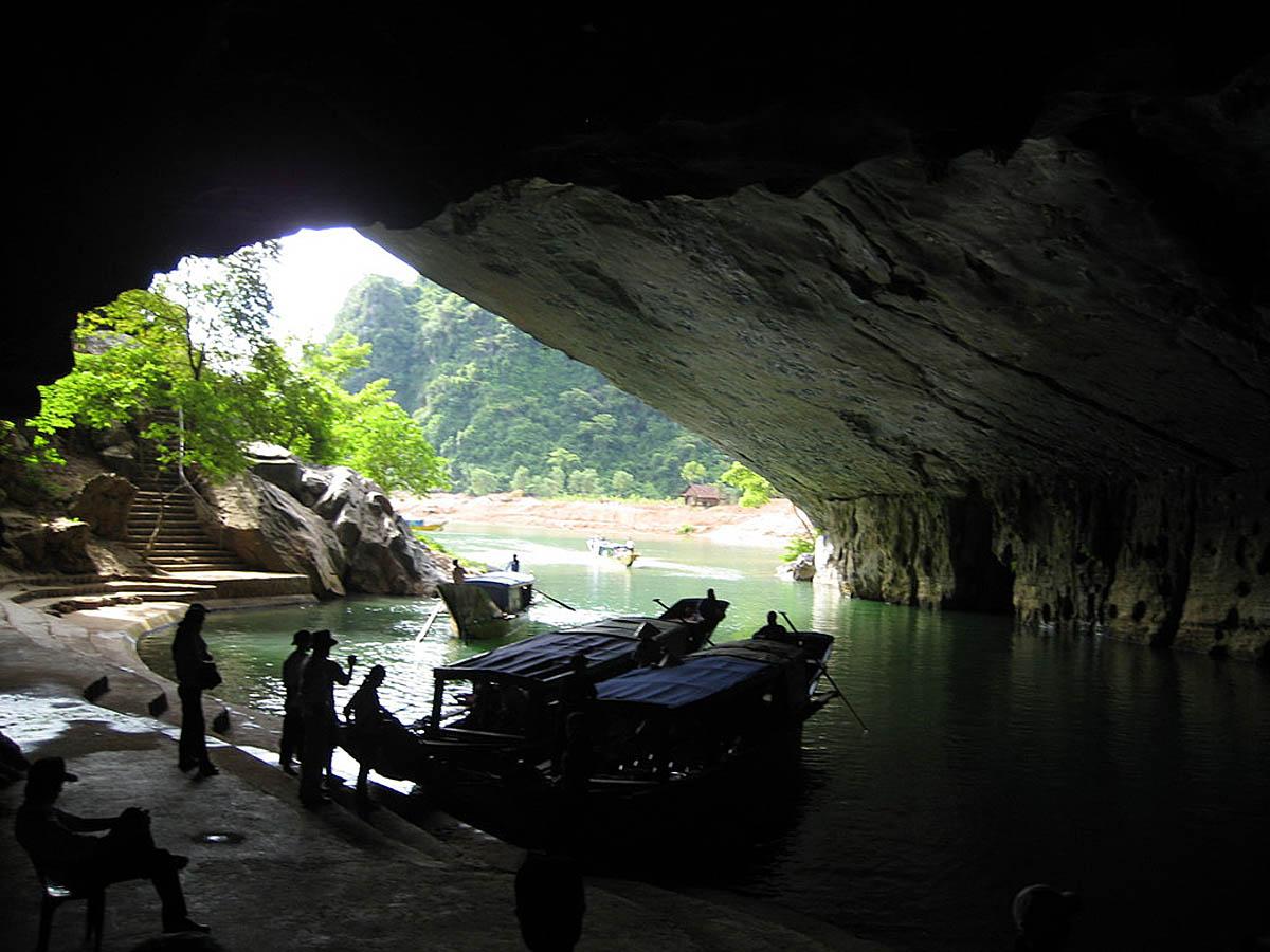 национальный парк Фонгня-Кебанг во Вьетнаме