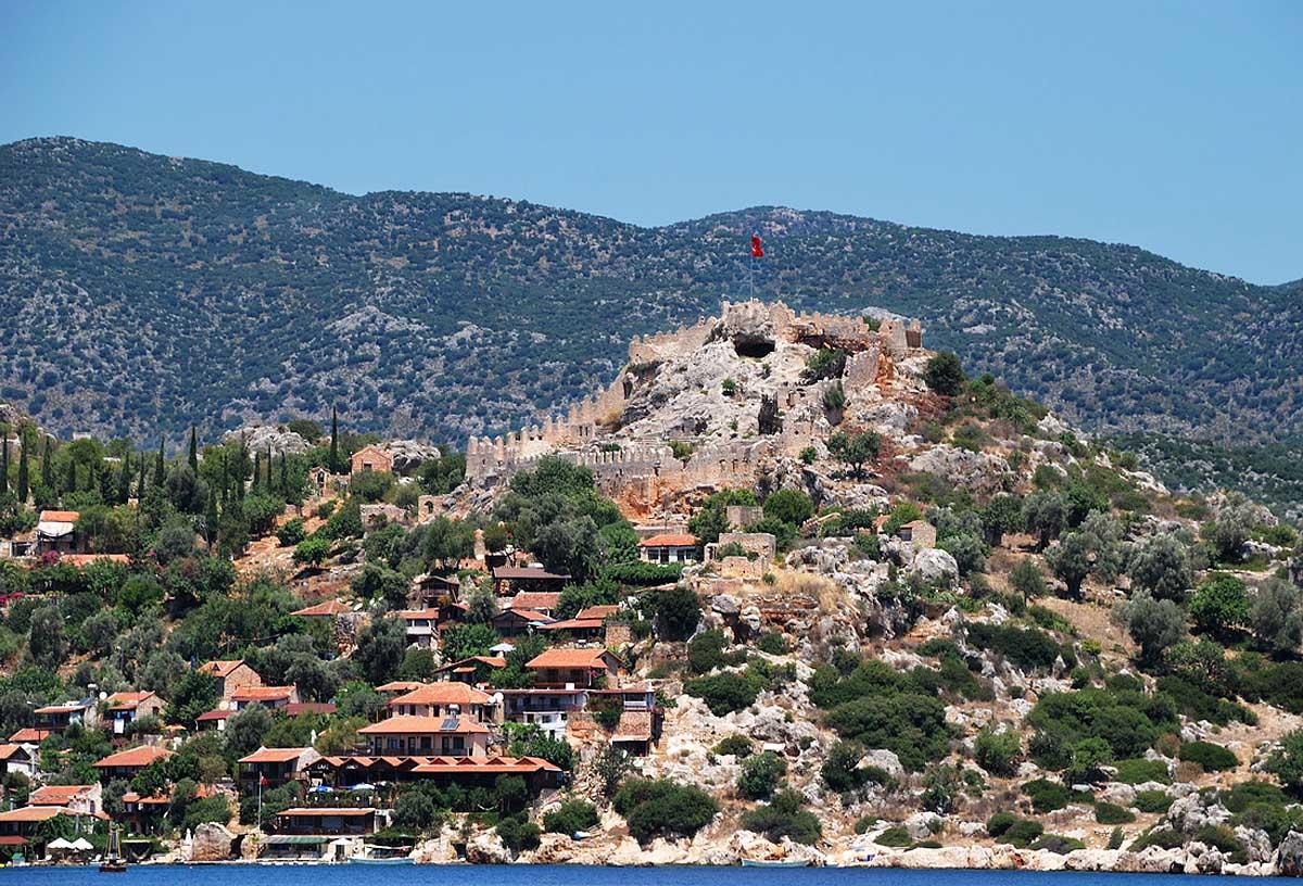 остров Кеков в Турции