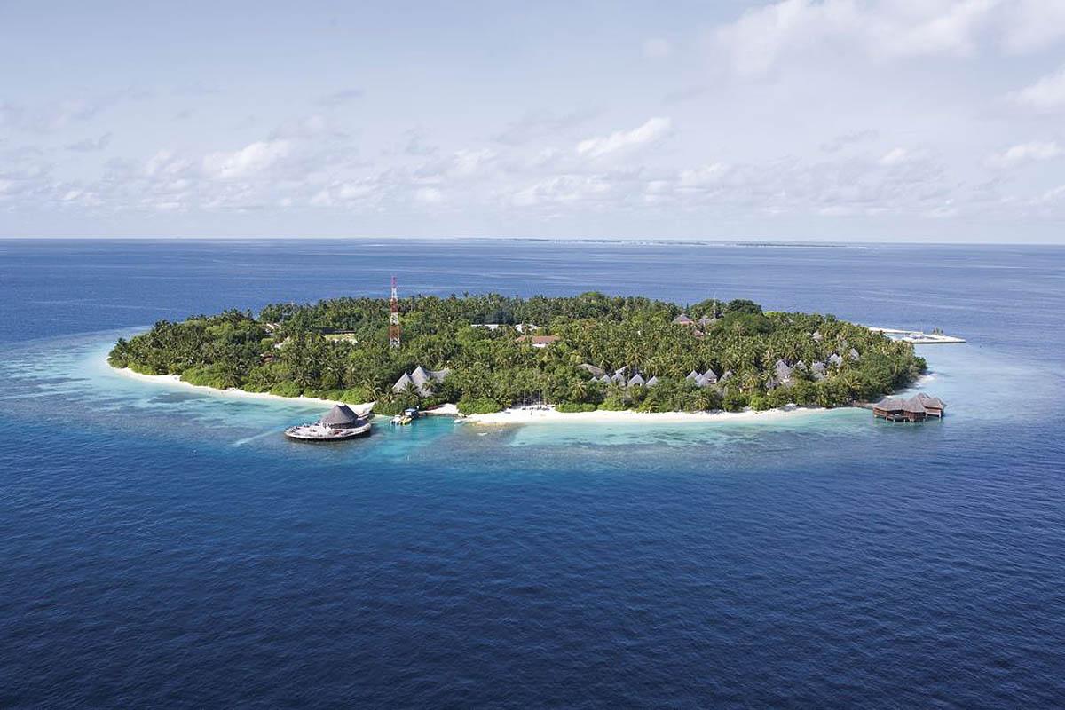 остров Куба Бандос на Мальдивах