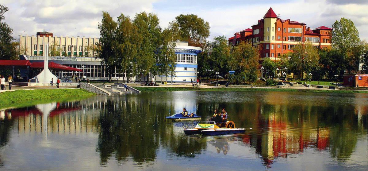 отдых на Белом озере в Томске