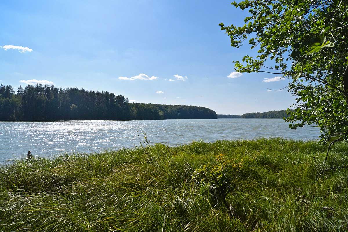 озеро Виша в районе Вамны
