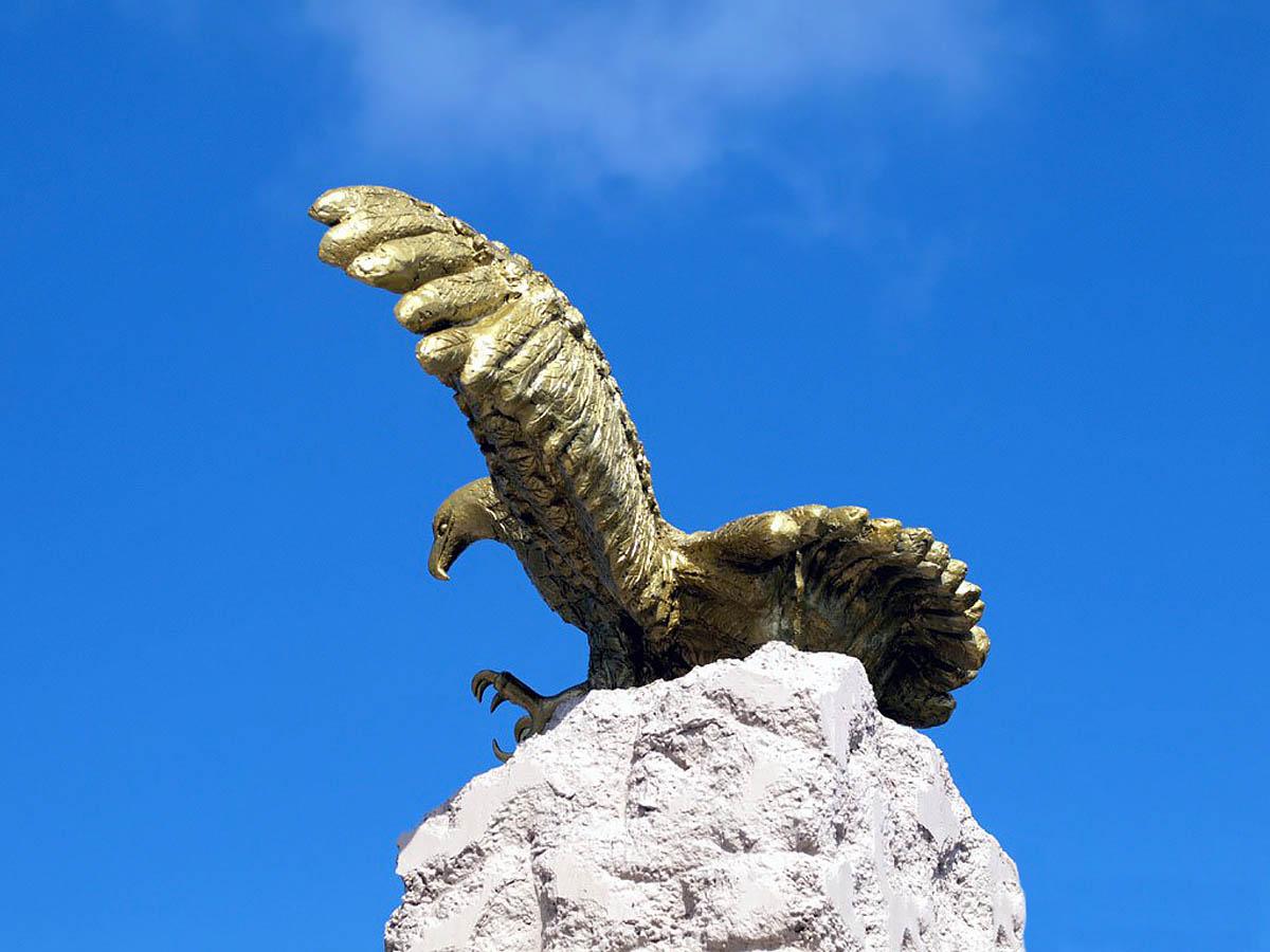 памятник Парящий орел, Анапа