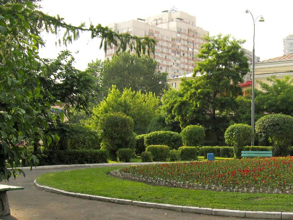 парк Красная Пресня, Москва