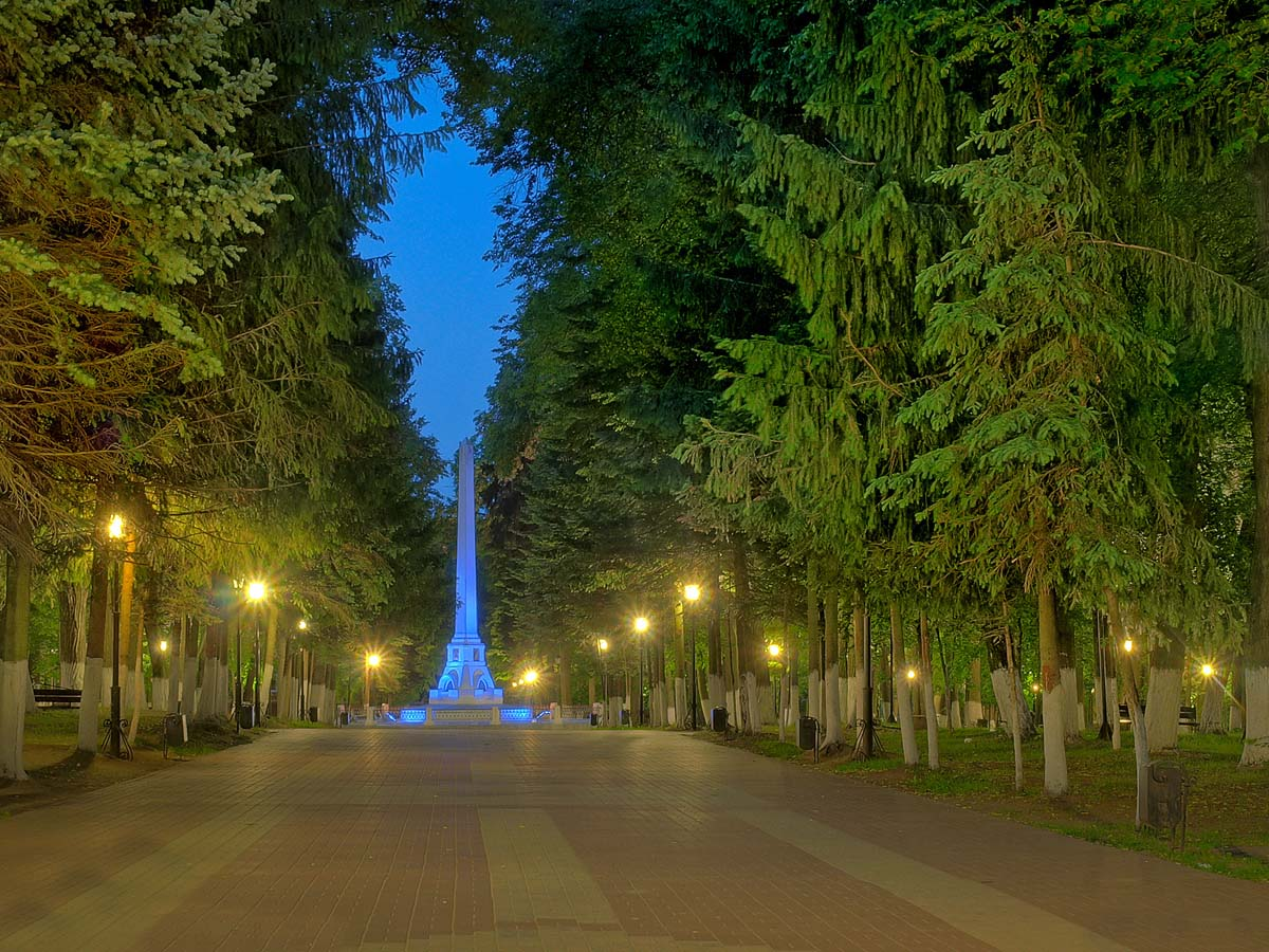 парк Циолковского, Калуга