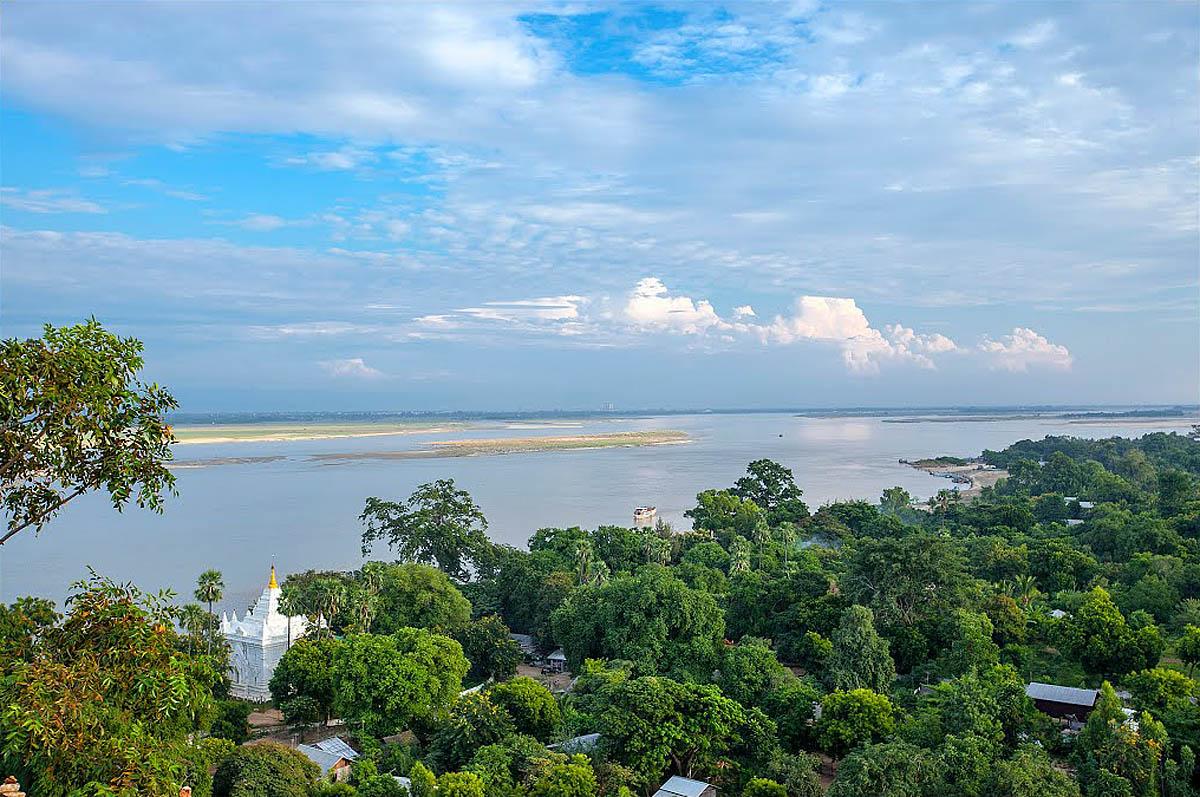 река Иравади, Мьянма