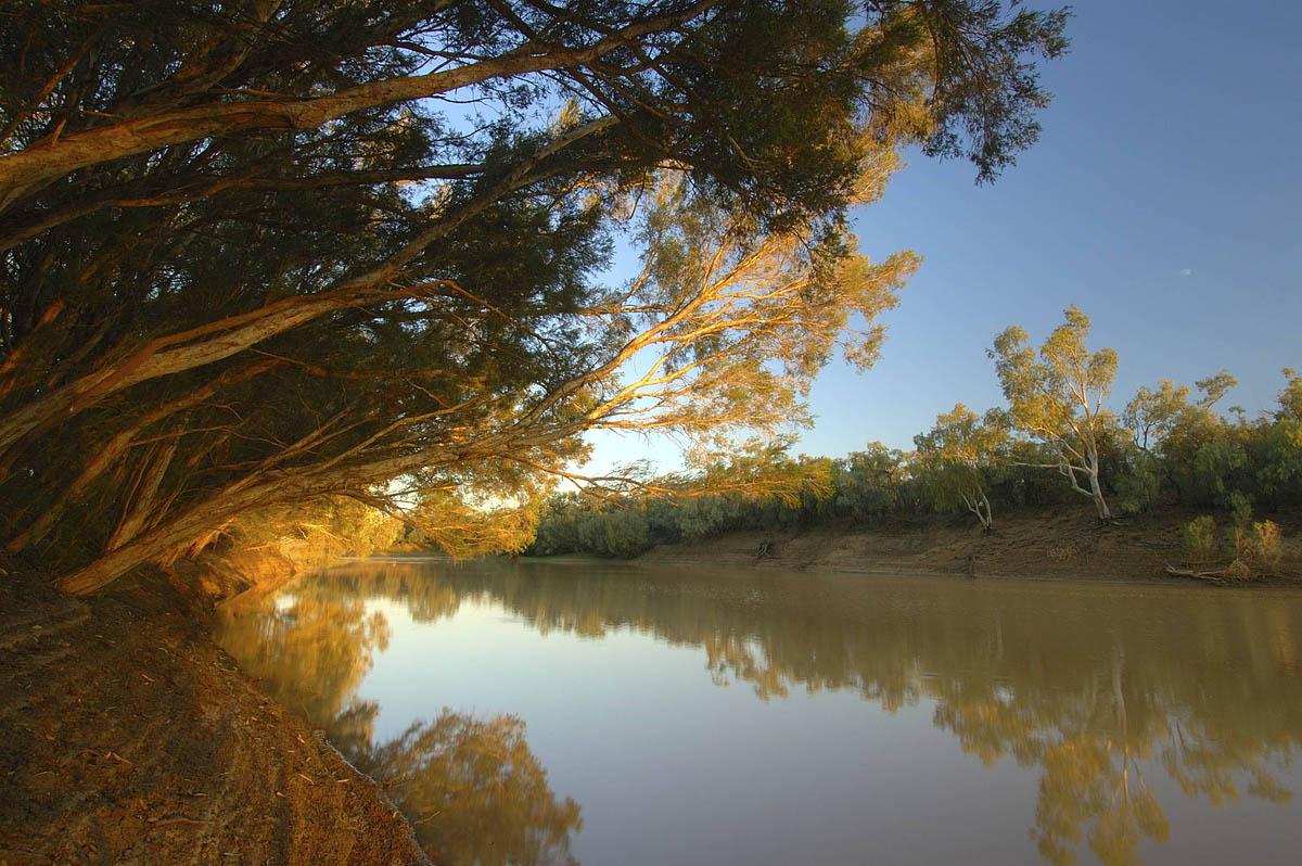 река Купер Крик, Квинсленд, Австралия