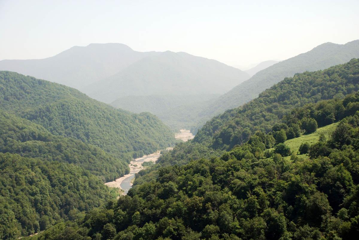 река Шахе, урочище Три Дуба