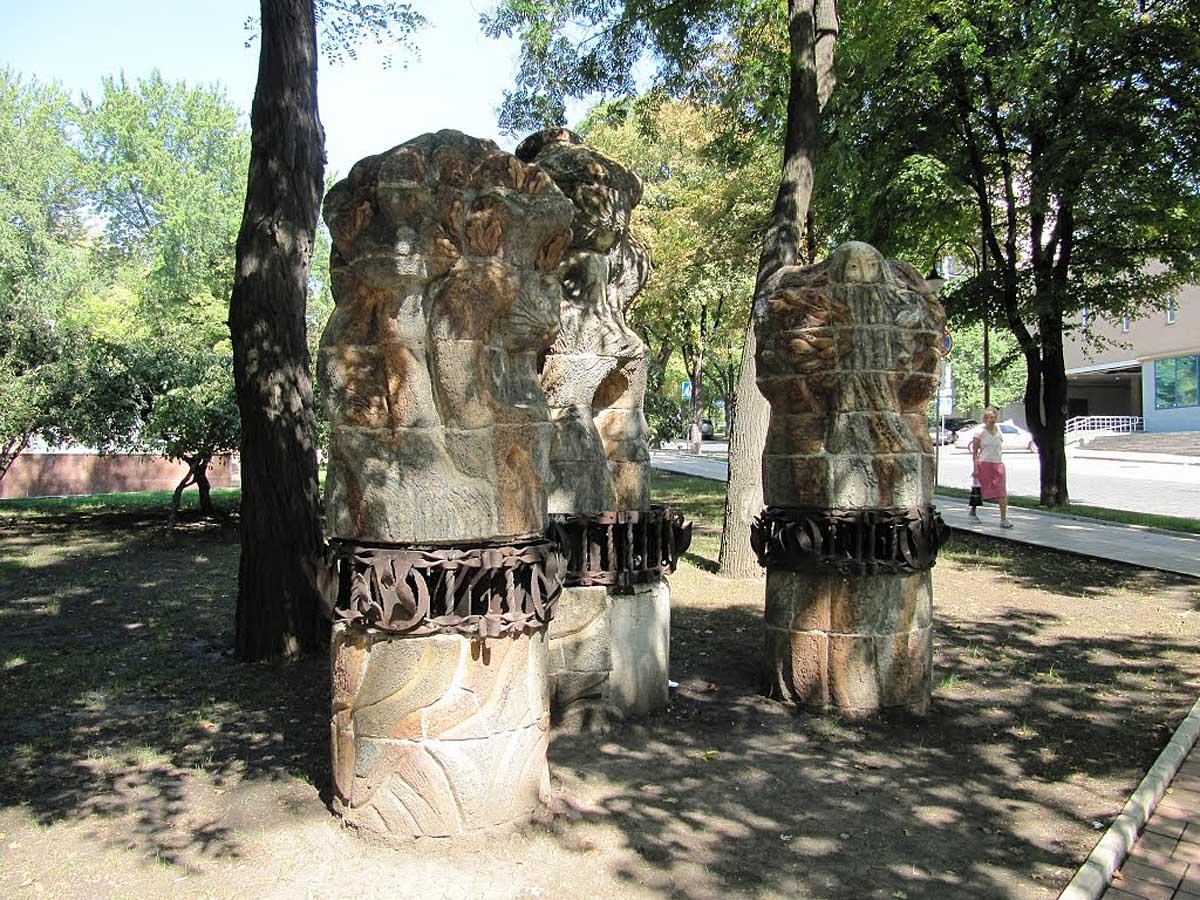скульптуры бульвара Пушкина, Донецк