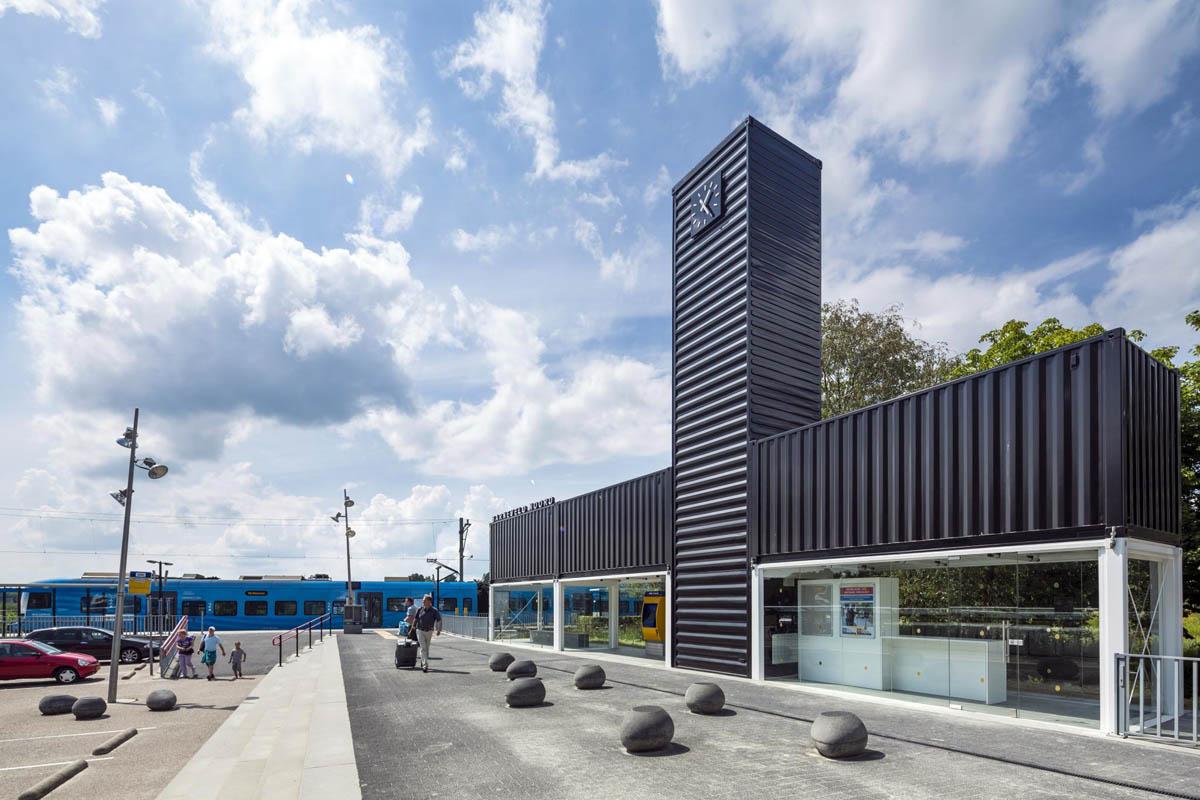 станция Северный Барневельд в Нидерландах