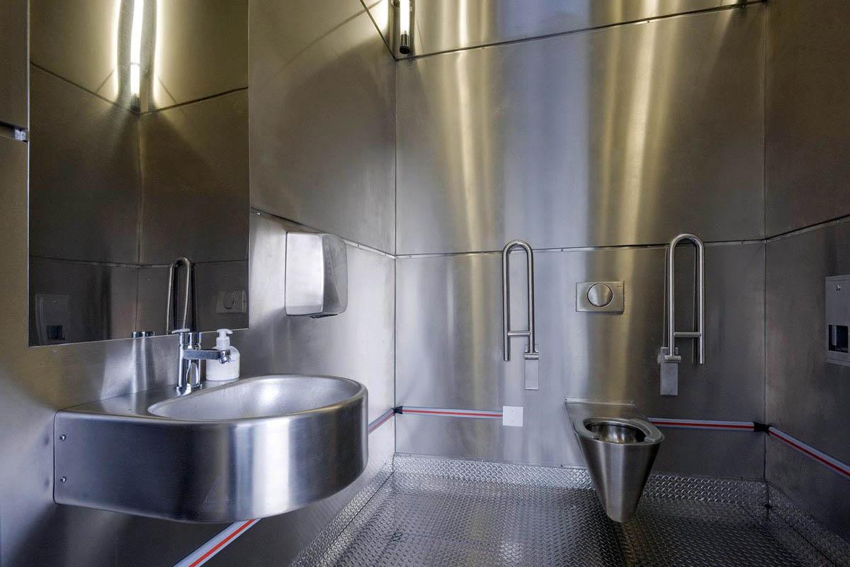туалет на станции Северный Барневельд