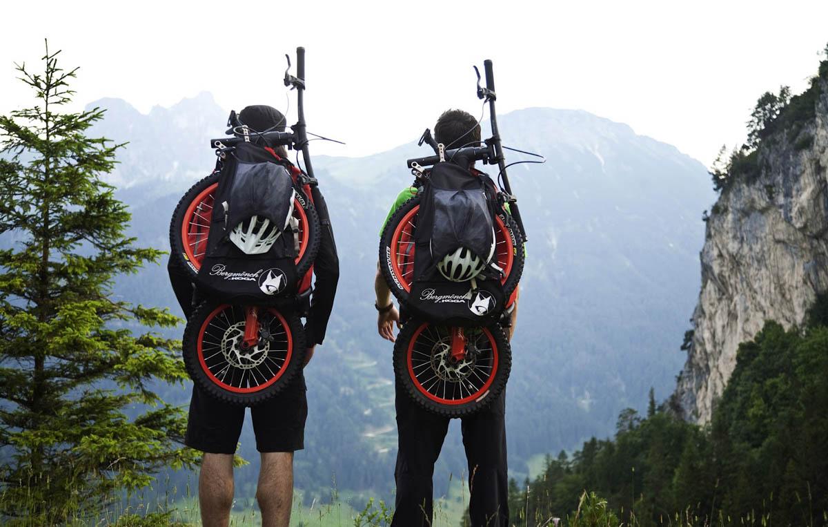 велосипед-рюкзак