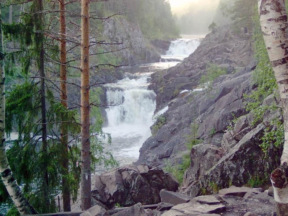 водопад Кивач, Россия
