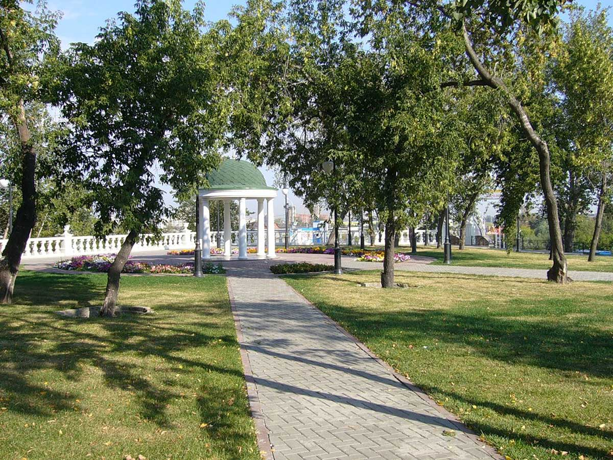 Александровский сад, Тюмень, Россия