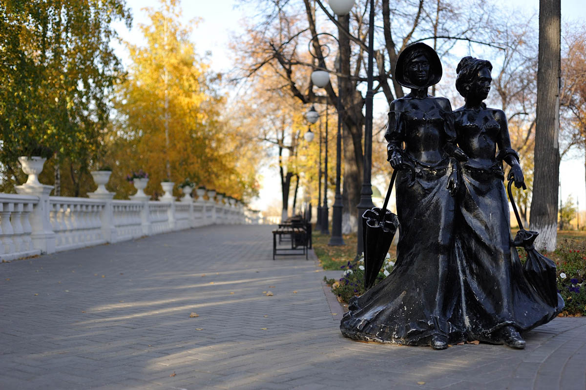 Александровский сад Тюмени, Россия