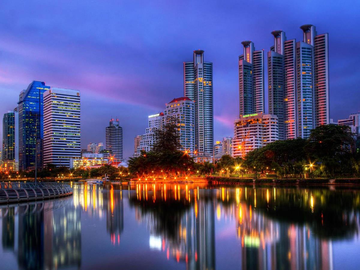Benjakiti Park, Bangkok, Thailand