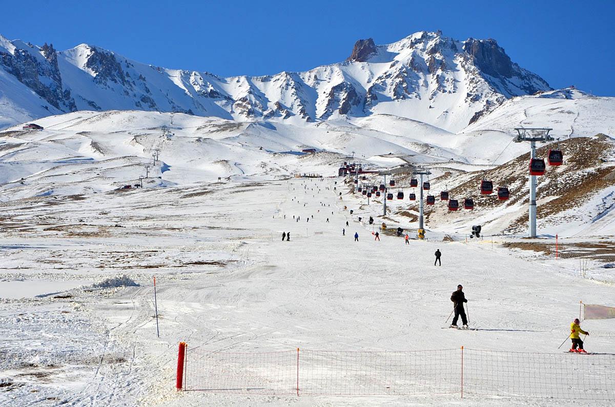 Erciyes ski resort, Turkey
