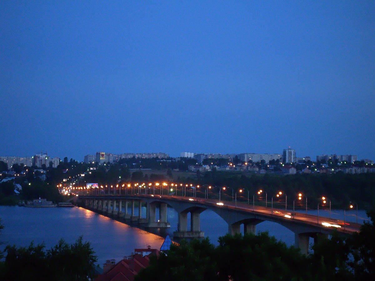 Костромской мост через Волгу