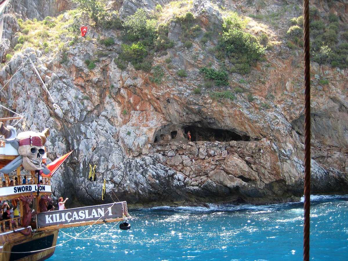Пещера Влюбленных в Алании, Турция