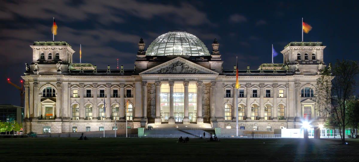 Рейхстаг, Берлин, Германия