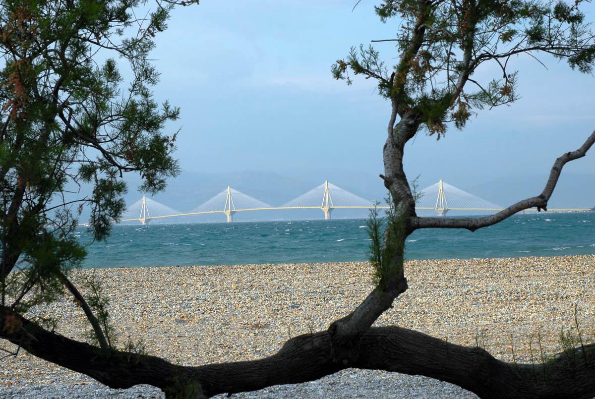 Rio bridge, Patras, Greece