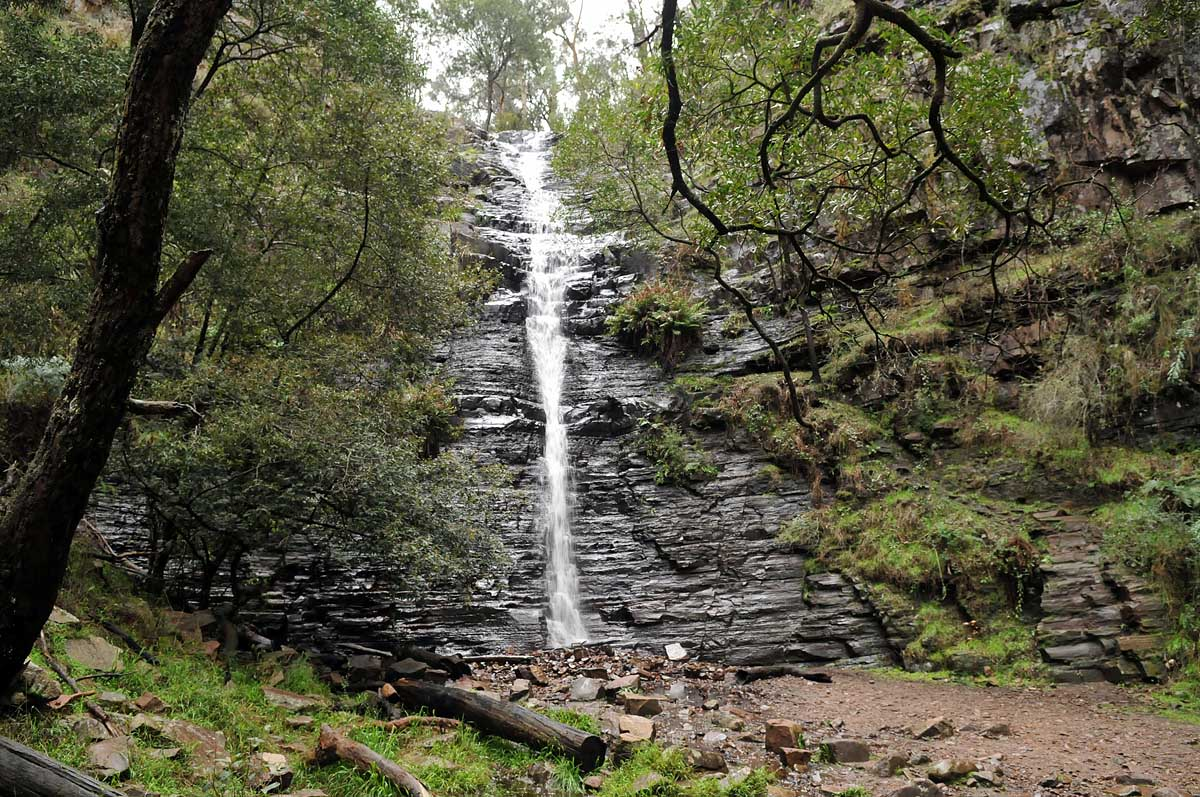 Silverband Falls, Grampians National Park, Victoria, Australia